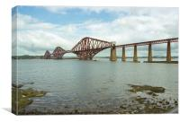 Firth of Forth Bridge Scotland, Canvas Print