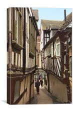 Streetscape Shrewsbury, Canvas Print