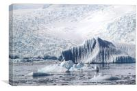 Iceberg Cierva Cove Antarctica, Canvas Print