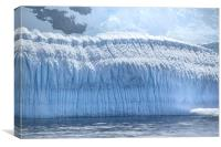 Wall of Ice Antarctica, Canvas Print