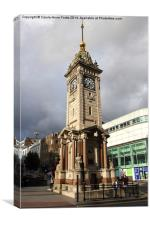Clock Tower Brighton, Canvas Print
