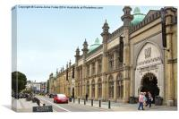 Brighton Dome, Canvas Print