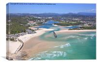 Gold Coast Aerial, Canvas Print