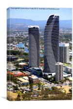 High Rise at Surfers Paradise, Canvas Print