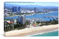 The Gold Coast & The Spit, Canvas Print
