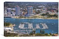 Luxury Lifestyle on the Gold Coast, Canvas Print