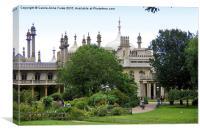 The Royal Pavilion Brighton, Canvas Print
