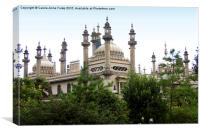 The Royal Pavilion Brighton, Canvas Print