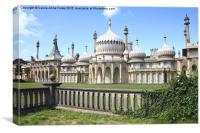 The Royal Pavilion Brighton England, Canvas Print