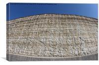 Chalk Cliffs at Saltdean East Sussex, Canvas Print