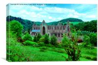 Tintern Abbey, Canvas Print