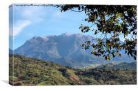 Mount Kinabalu, Sabah, Borneo, Canvas Print