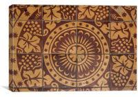 Floor Tiles, Canvas Print