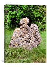 Rollright Stone, Canvas Print