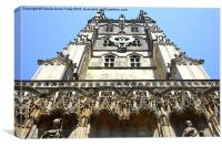 Canterbury Cathedral, Kent, Canvas Print