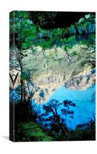 Mirror Lakes #3, New Zealand, Canvas Print