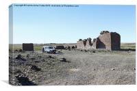 Fortress. Middle Gobi Mongolia, Canvas Print