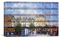 City Centre Reflections Copenhagen, Canvas Print
