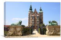 Rosenborg Castle Museum, Canvas Print