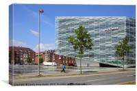 Commercial Architecture, Copenhagen, Denmark, Canvas Print
