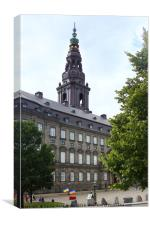 Copenhagen, City of Spires, Canvas Print