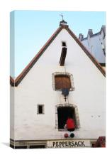 Peppersack, Old Town, Tallinn, Estonia, Canvas Print