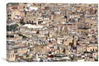 The Medina, Fes, Canvas Print