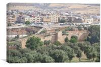 Medina of Fes, Canvas Print