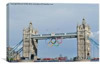 Olympic Bridge, Canvas Print