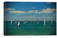 Plain Sailing, Canvas Print