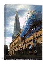 Skyscraping Shard, Canvas Print