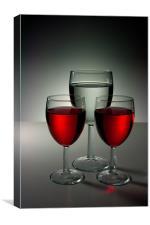 Wine Still Life, Canvas Print