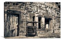 Blacksmith's Workshop, Canvas Print