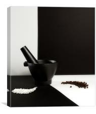 Salt & Pepper, Canvas Print