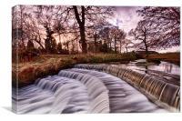 Water Blur, Canvas Print