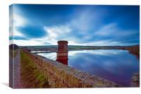 Scout Dike Reservoir, Canvas Print