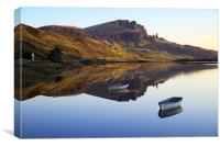 Storr Reflected, Canvas Print