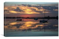 Sunset Bay, Canvas Print
