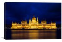 Budapest Parliament , Canvas Print