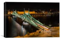 Liberty Bridge, Canvas Print