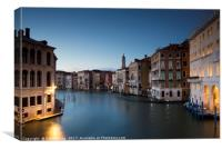 Venice Blue, Canvas Print