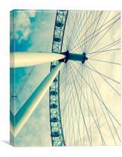 London eye , Canvas Print
