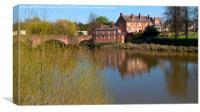 Chester river scene, Canvas Print