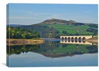 Ladybower Reservoir, Canvas Print