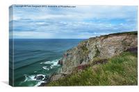 Cornish Coastline, Canvas Print