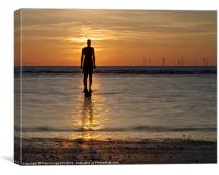 Another Place, Crosby Beach, Canvas Print