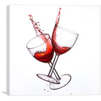 Cheers, Canvas Print