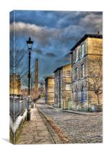 Saltaire in HDR, Canvas Print