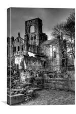 Kirkstall Abbey 2, Canvas Print