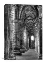 Kirkstall Abbey 3, Canvas Print